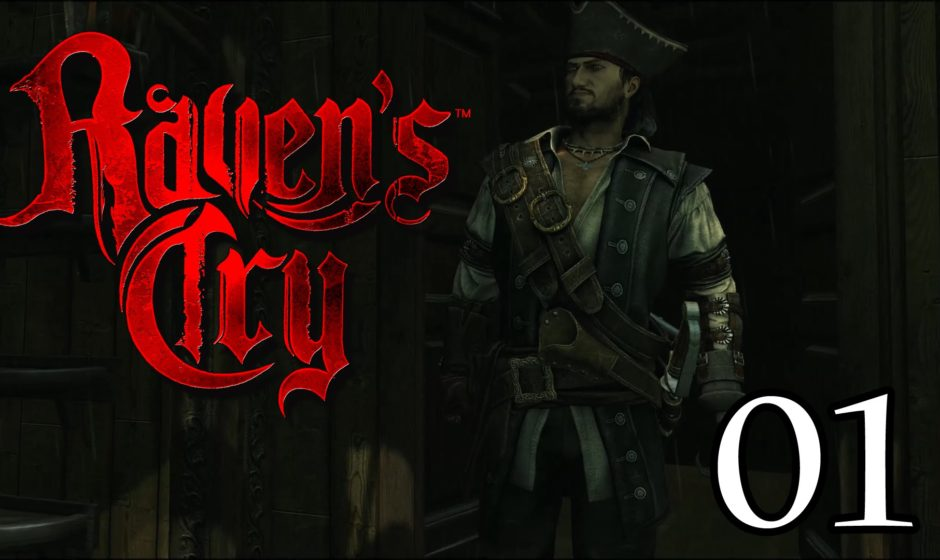 [Let's Play] Raven's Cry - 01 - Stürmische und laute See, Oh je!