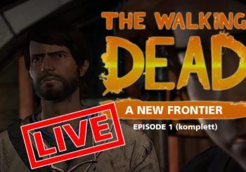 [Let's Play Live] The Walking Dead: A New Frontier - Alte Säcke, junge Mädchen (komplette Episode 1)
