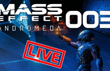 [Let's Play Live] Mass Effect: Andromeda - Schlechtes Wetter, gutes Wetter