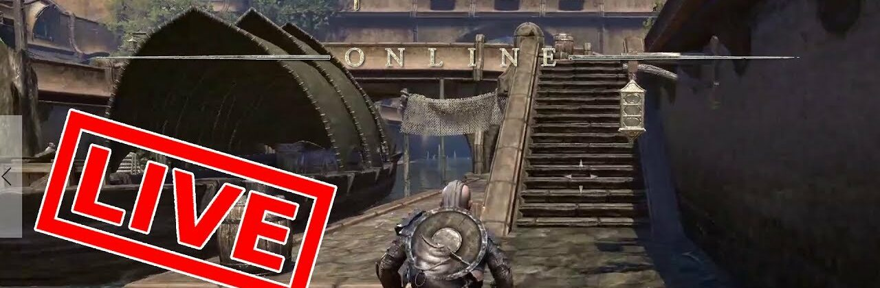 [Let's Play Live] TESO - In Vvardenfell haben Waden Fell