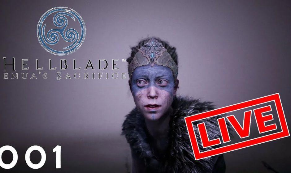 [Let's Play Live] Hellblade: Senua's Sacrifice - 001 - Abseits von Gut und Böse