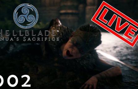 [Let's Play Live] Hellblade: Senua's Sacrifice - 002 - Stirb nicht, sonst stirbst Du!