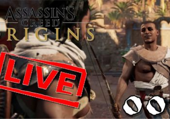 [Let's Play Live] Assassin's Creed Origins - 002 - Pattexkamel und ein Adler