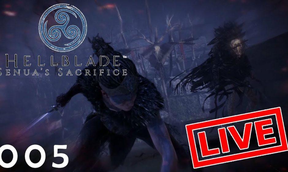 [Let's Play Live] Hellblade: Senua's Sacrifice - 005 - Mord und Entsetzen, Trauer und Rage Quit