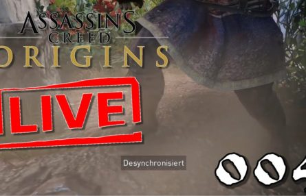 [Let's Play Live] Assassin's Creed Origins - 004 - Banditen aus der Höhle