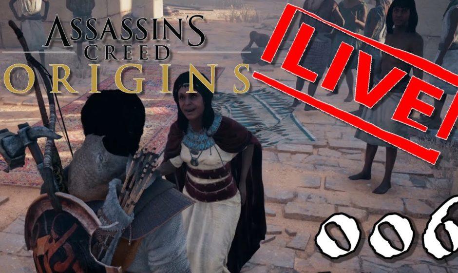 [Let's Play Live] Assassin's Creed Origins - 006 - Morden für die Gesundheit