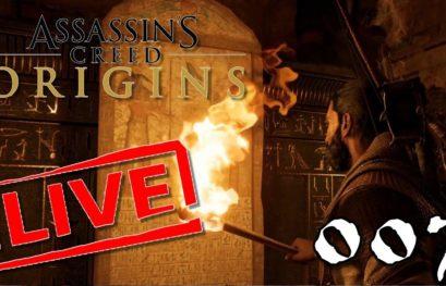 [Let's Play Live] Assassin's Creed Origins - 007 - Ein Zuhause und Versteck
